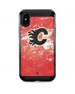 Calgary Flames Frozen iPhone XS Max Cargo Case