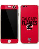 Calgary Flames Lineup iPhone 6/6s Skin