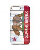 California Flag Light Wood iPhone 7 Plus Pro Case