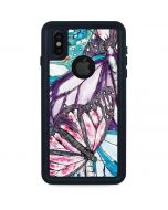 California Monarch Collage iPhone XS Waterproof Case