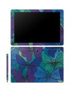 California Watercolor Butterflies Galaxy Book 12in Skin