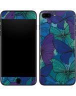 California Watercolor Butterflies iPhone 7 Plus Skin