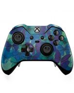 California Watercolor Butterflies Xbox One Elite Controller Skin