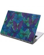 California Watercolor Butterflies Yoga 910 2-in-1 14in Touch-Screen Skin