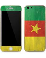 Cameroon Flag Distressed iPhone 6/6s Skin