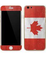 Canada Flag Distressed iPhone 6/6s Skin