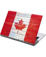 Canada Flag Light Wood Yoga 910 2-in-1 14in Touch-Screen Skin