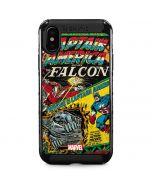 Captain America And Falcon iPhone XS Max Cargo Case