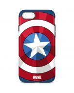 Captain America Emblem iPhone 8 Pro Case
