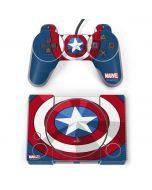 Captain America Emblem PlayStation Classic Bundle Skin