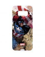 Captain America Fighting Galaxy S8 Plus Lite Case