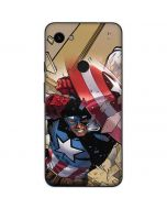 Captain America Fighting Google Pixel 3a Skin