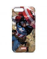 Captain America Fighting iPhone 7 Plus Pro Case