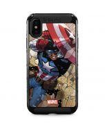 Captain America Fighting iPhone XS Max Cargo Case