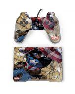 Captain America Fighting PlayStation Classic Bundle Skin
