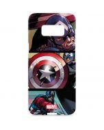 Captain America in Action Galaxy S8 Plus Lite Case