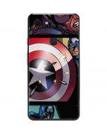 Captain America in Action Google Pixel 3 XL Skin