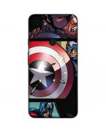 Captain America in Action Google Pixel 3a Skin