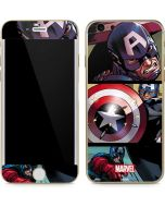 Captain America in Action iPhone 6/6s Skin