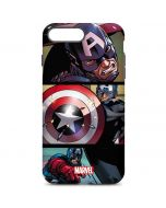 Captain America in Action iPhone 7 Plus Pro Case
