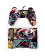 Captain America in Action PlayStation Classic Bundle Skin