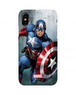 Captain America iPhone XS Max Lite Case