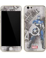Captain America is Ready iPhone 6/6s Skin