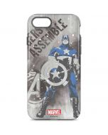Captain America is Ready iPhone 8 Pro Case