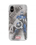 Captain America is Ready iPhone XS Max Lite Case