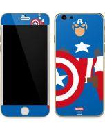 Captain America Minimal iPhone 6/6s Skin