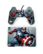 Captain America PlayStation Classic Bundle Skin
