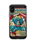 Captain America Revival iPhone XS Max Cargo Case