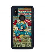 Captain America Revival iPhone XS Waterproof Case