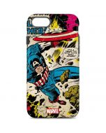 Captain America Rooftop Explosion iPhone 8 Pro Case