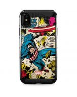 Captain America Rooftop Explosion iPhone XS Max Cargo Case