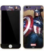 Captain America Saves the Day iPhone 6/6s Skin