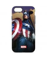 Captain America Saves the Day iPhone 8 Pro Case