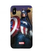 Captain America Saves the Day iPhone XS Max Lite Case