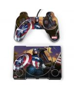 Captain America Saves the Day PlayStation Classic Bundle Skin