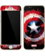 Captain America Shield iPhone 6/6s Skin