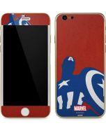 Captain America Silhouette iPhone 6/6s Skin