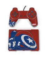 Captain America Silhouette PlayStation Classic Bundle Skin
