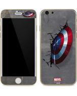 Captain America Vibranium Shield iPhone 6/6s Skin