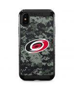 Carolina Hurricanes Camo iPhone XS Max Cargo Case