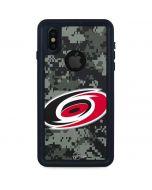 Carolina Hurricanes Camo iPhone XS Waterproof Case