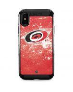 Carolina Hurricanes Frozen iPhone XS Max Cargo Case