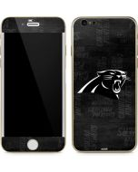 Carolina Panthers Black & White iPhone 6/6s Skin