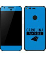 Carolina Panthers Blue Performance Series Google Pixel Skin