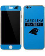Carolina Panthers Blue Performance Series iPhone 6/6s Skin
