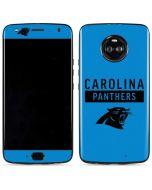 Carolina Panthers Blue Performance Series Moto X4 Skin